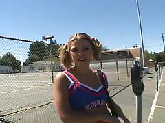 Sweet teen cheerleader down for hardcore anal pov fun