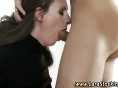 Mature brit in heels gets fucked
