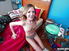 small tits, teen, blonde, interracial, blowjob, bbc, bangbros 18, bangbros network, alison faye