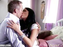 Gorgeous anissa kate rides hard cock