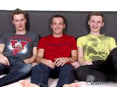 Blake mason horny boys does threesome
