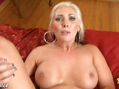 Busty blonde skylar price fucking a big fat cock.