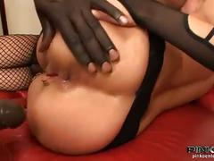 Hot italian slut nataly banged by two hard cocks