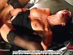 Horny german goo girl anna gets fucked hard