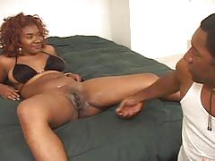 Extreme hardcore sex-readhead babe drilled by a big black dick