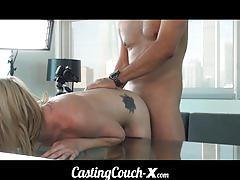 Casting couch-x cute florida blonde models nude