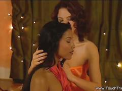 Lesbian erotic sensual massage.