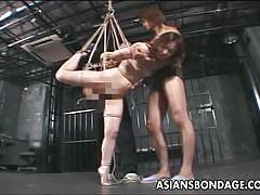 Amateur japanese gets suspended and tortured