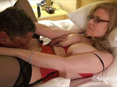 Nina hartley gives cunt lick lesson riding dapper dan's face