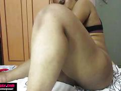 Amatuer south indian rides dildo