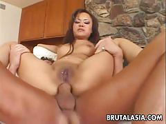 Brunette sexy annie cruz gets her ass drilled hard