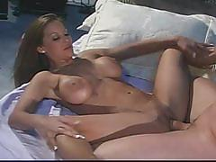 Extreme hardcore sex- a horny babe drill her  pussy by a big cock .