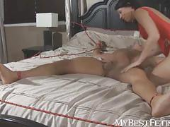Tiffany submissive tickling