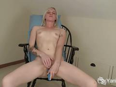 masturbation, amateur, blonde, solo, pussy, toys,