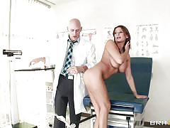 Babe ready for medical examination