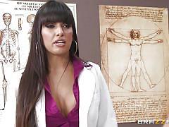 Milf doctor heals her patient's cock