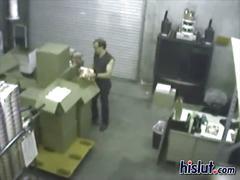 Storeroom sex