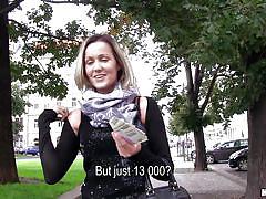 Blonde earns her cash