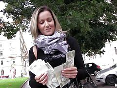 Blonde earns her cash