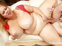 Fat slut minnie mayhem couch fuck