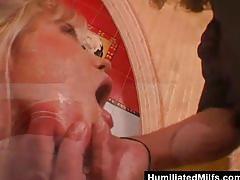 Milf hooker gets wrecked in hotel room