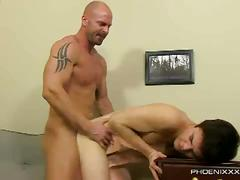 My gay boss - mitch vaughn fucks dustin fitch