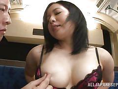 Train sex for japanese girl