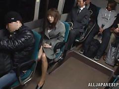 big boobs, fingering, brunette, japanese schoolgirl, censored, bus, public bathroom, public sex japan, all japanese pass, momo ogura