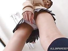 A school girl's panties