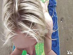 Enjoying the seaside @ naughty amateur home videos season 7, ep. 2