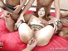 Nippon lady anally exploited