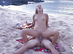 Hard fuck on the beach @ naughty amateur home videos season 7, ep. 8