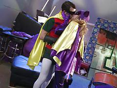 blonde, babe, blowjob, pussy licking, batman, superhero, robin, costumes, wicked pictures, lexi belle