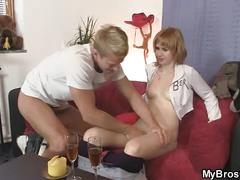 He is pissed off when finds her cheating