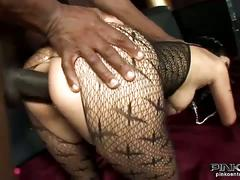 Horny asia de ville in hardcore interracial sex