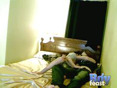 Trace and william fuck in bed from boy feast