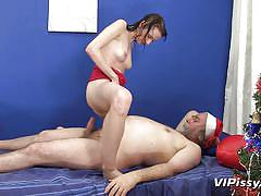 Santa likes to take a gifts too