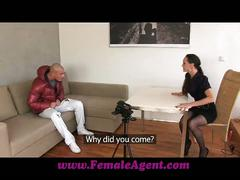 Femaleagent gorgeous stud in mind blowing casting