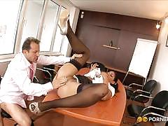 valentina rossini, brunette, hardcore, babe, pussy, stockings, doggy style, girlfriend, shaved pussy, secretary, boss, beauty, uniform, amateur, ex-girlfriend, black hair, spoon, fishnets, missionary