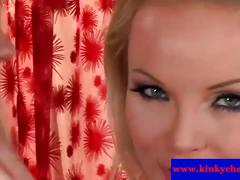 Silvia saint plays with cherry jul