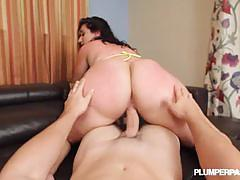 Vanessa blake moans with every pounding