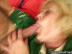 She loses a bet and gets double fucked
