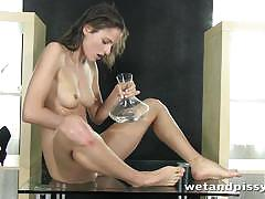 "Silvia luca in ""she masturbates with her piss"""