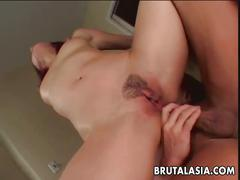 Sexy katsuni goes ass to mouth in sexy anal play.