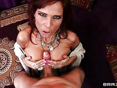 milf, round ass, rimming, blowjob, big boobs, brunette, titjob, from behind, gypsy, pov, big butts like it big, brazzers network, syren de mer, erik everhard