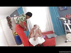 blonde, granny, interracial, huge boobs, titjob, bbc, white ghetto, fame digital, franco roccaforte, sara g