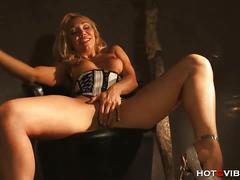 Ravishing blonde milf ginger hell teases