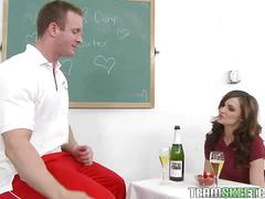 Horny teacher fucks lily carter