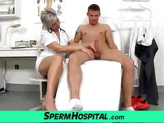 mom-boy, gilf, mature, clinic, granny, milf, hospital, cumshot, female-doctor, jizz, doctor, handjob, lady, cougar, grandma, mom, mother, sperm, medical
