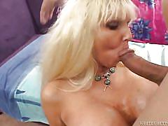 My huge boobs granny @ blacks on blondes #02